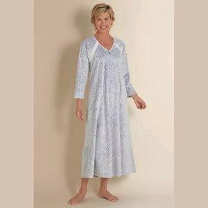 Soft Surroundings | Lavender Long Cozy Up Gown